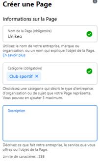 3. Les 7 étapes à suivre pour créer une page Facebook pour son association sportive