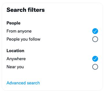 recherche Twitter avancée